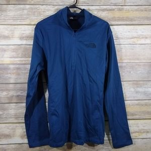 The North Face half zip pull over Mens M